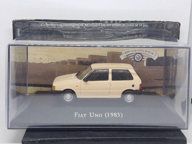 Miniatura Fiat Uno 1983 escala 1:43 - Foto 5