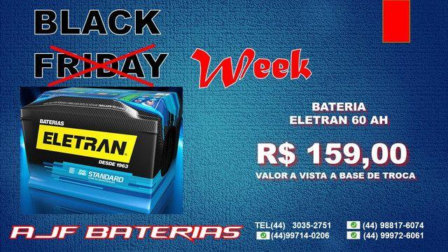 Bateria automotiva eletran 60 amperes