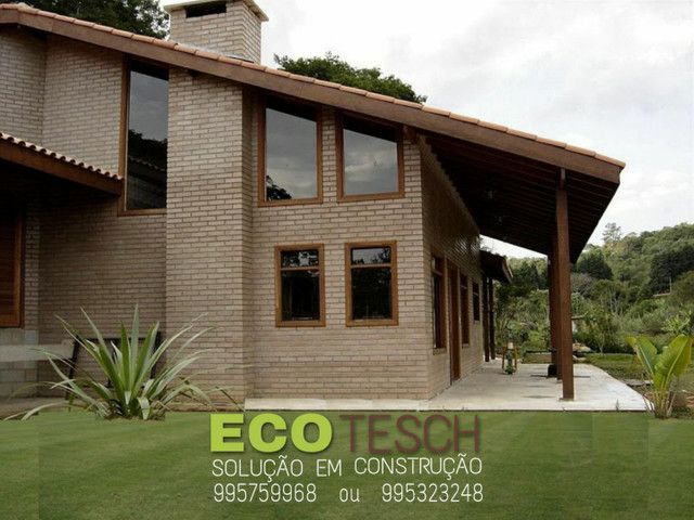 Casa de tijolinho ecologico de 350 a 450m3 - Foto 9