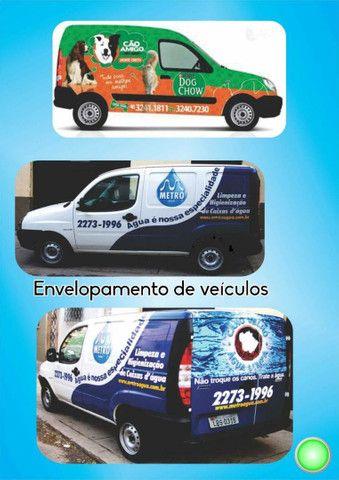 Envelopamentos de geladeira, eletro doméstico, parede e veículos