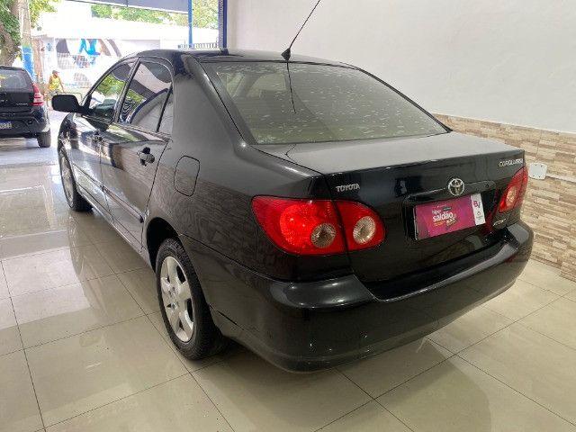 Toyota Corolla XEI Automatico + Couro 2005 - Foto 4