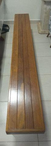 Bancos de madeiras