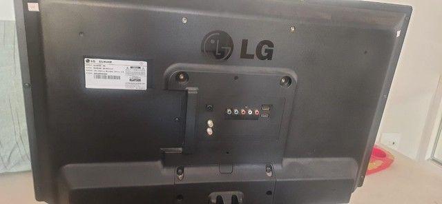 Tv Led 32 polegada 32LN546B SM + base + controle - Foto 4