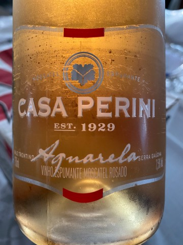 Espumante Casa Perinni Aquarela Rose 750ml - Foto 2