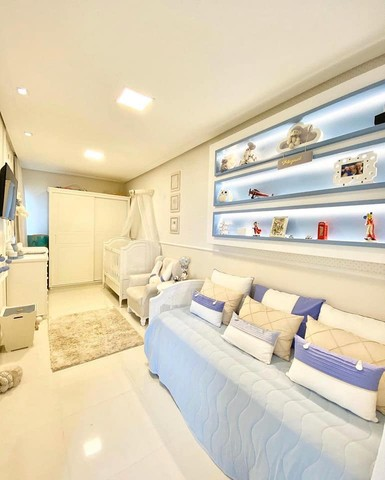 Linda casa em condomínio, 3 suítes, closet, perto da Fraga Maia. - Foto 7