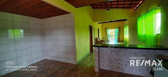 2 Casas com 5 dormitórios à venda, 250 m² por R$ 370.000 - Barra Grande - Vera Cruz/BA - Foto 20