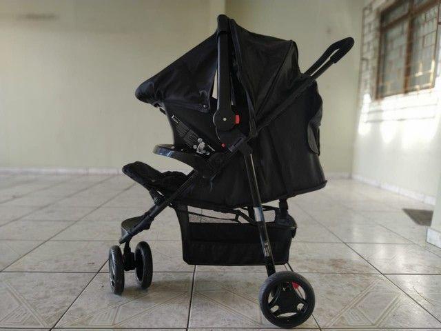 Carrinho Voyage com bebê conforto!! - Foto 4