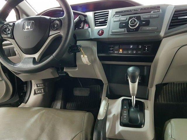 HONDA CIVIC LXS 1.8 16V FLEX AUTOMATICO - Foto 10