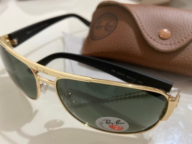Óculos Ray Ban Unisex Metálico Modelos 100% Atualizados  - Foto 3