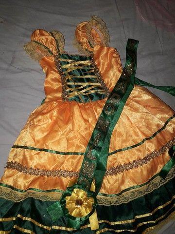 Vestido quadrilha rainha do milho  - Foto 2