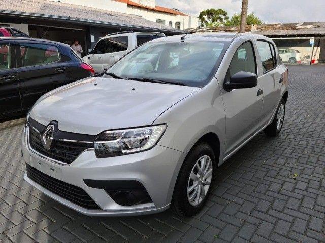 Renault Sandero  Life 1.0 0 Km emplacado . - Foto 16