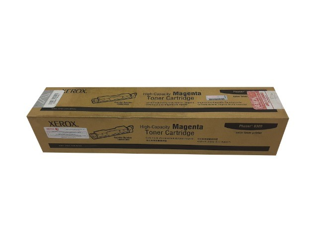 Toner Xerox 6300 / 106R01082 Cyan Original Novo