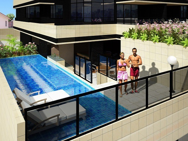 Vende-se Apto no EDF. Chardonnay, 3 suítes + Gabinete, Ponta Verde, 140m². - Foto 7