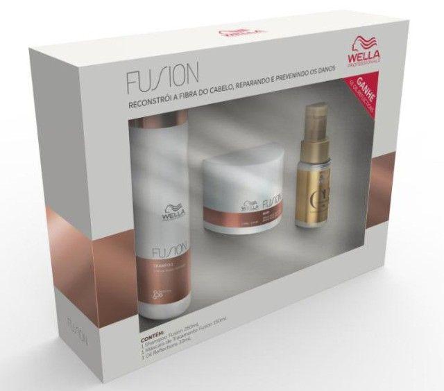 Wella Kit de Tratamento Home Care Fusion ou Oil Reflections - leia