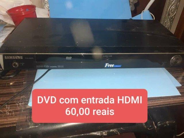 Dvd com entrada HDMI