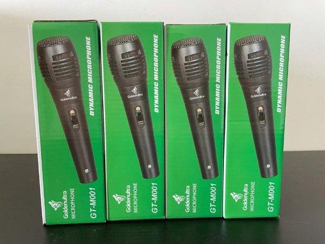 Microfone com Fio Goldenutra - M001