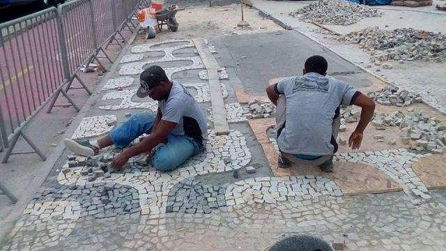 Pedra Portuguesa Calceteiro Colocador Calçada Parede e Vendas. * WhatsApp - Foto 4
