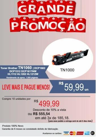 Promoção de toner TN1060 TN1000