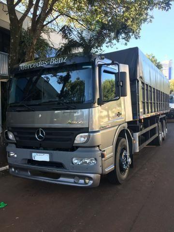 Mercedes Benz Atego 2425   Ar Condicionado   Caçamba Agrícola   2012    270.000km