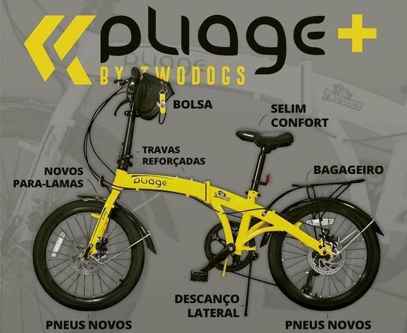 Bicicleta Dobrável Pliage Plus Two Dogs