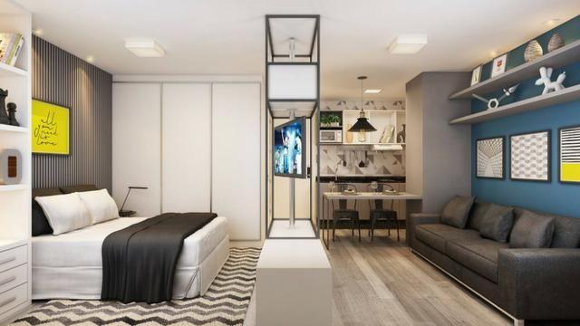 Studio 1 Dormitório Centro de Curitiba - Foto 6