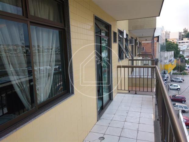 Apartamento à venda com 1 dormitórios em Jardim guanabara, Rio de janeiro cod:849589