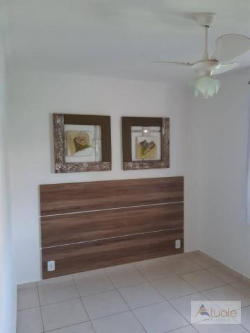 Apartamento com 2 dormitórios para alugar, 46 m² por r$ 1.050,00/mês - parque villa flores - Foto 14