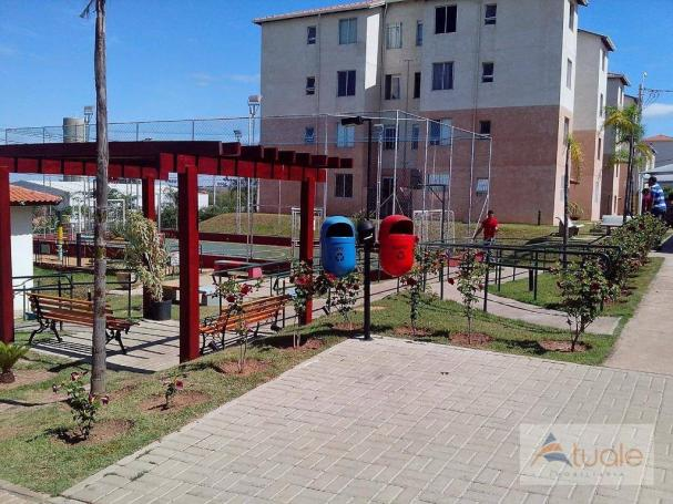Apartamento com 3 dormitórios à venda, 50 m² - condomínio pitangueiras - hortolândia/sp - Foto 9
