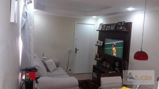 Apartamento com 2 dormitórios à venda, 50 m² - parque bandeirantes i (nova veneza) - sumar - Foto 9