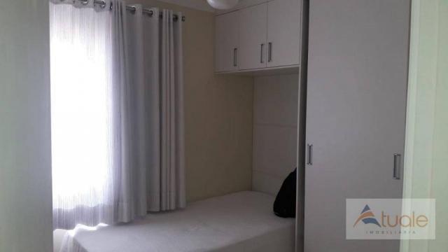 Apartamento com 2 dormitórios à venda, 50 m² - parque bandeirantes i (nova veneza) - sumar - Foto 11