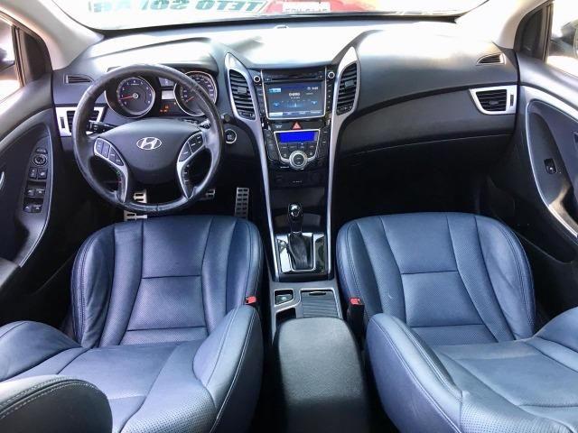 Hyundai i30 1.8 Top de linha Teto solar, Chave presença, Banco elétrico, ar digital - Foto 10