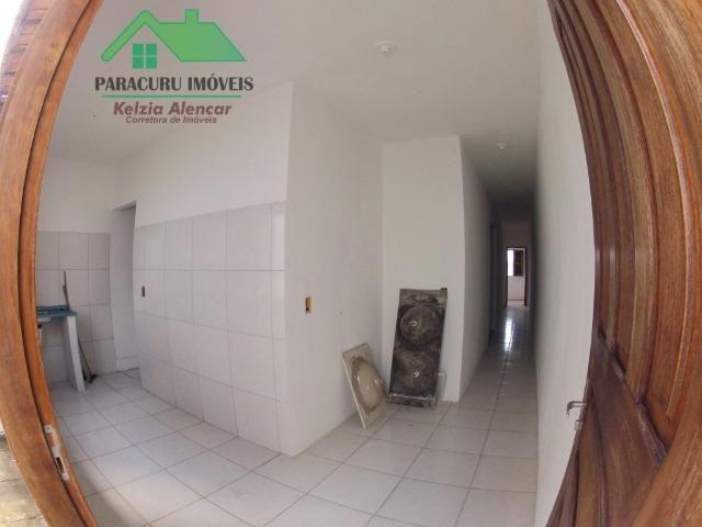 Casa simples de três quartos bem localizada em Paracuru - Foto 14