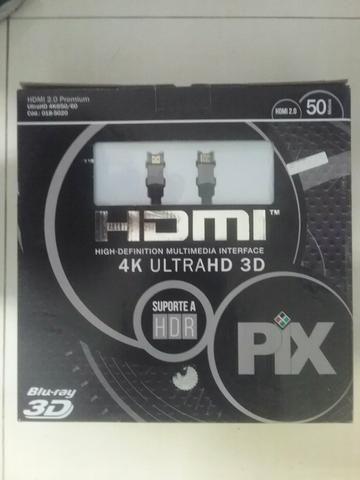 Cabo HDMI 50Mts ( novo com garantia) - Foto 2