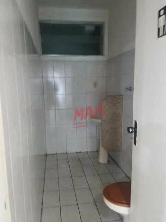 Sobrado comercial para alugar, 530 m² - Vila Mathias - Santos/SP - Foto 10