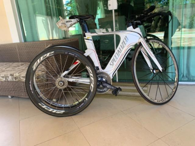 Bike Shiv Specialized 2012 Branca - Foto 2