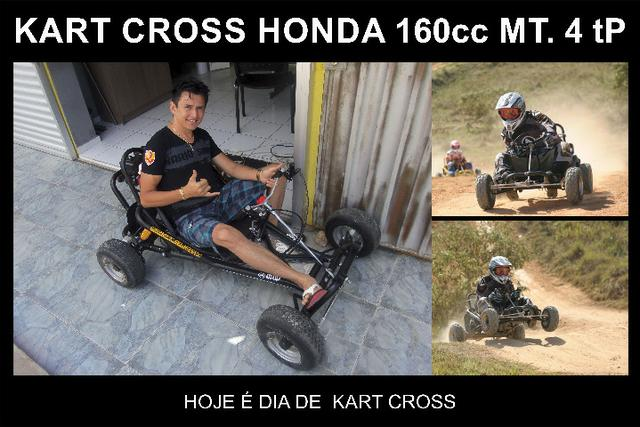 Kart cross drift 160cc Honda