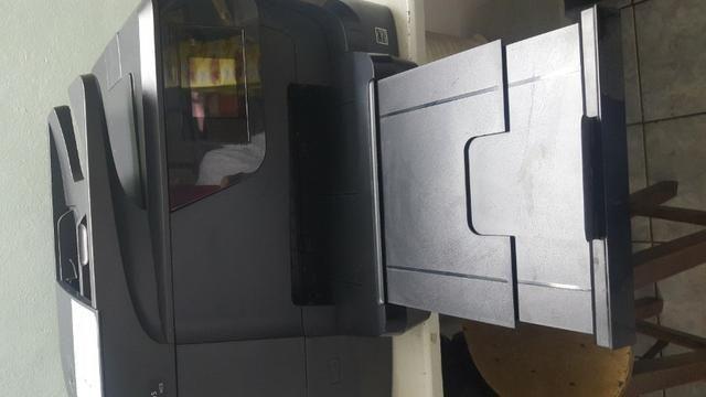 Impressora Multifuncional Hp Officejet Profissional 8715 Com Wi-Fi / 4 Em 1 Bivolt - Preta - Foto 3