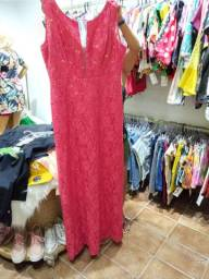 Vestido longo vermelho tamnho g