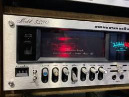 Tape deck marantz model 5220 das antigas tudo funcionando perfeitamente