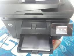 Impressora hp color laserjet pro mfp m177fw