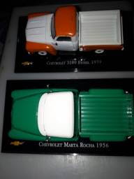Kit 02 Miniatura Chevrolet Collecction GM Pick-Up