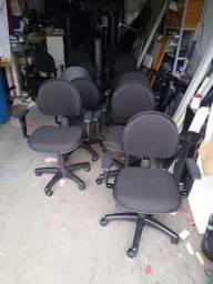 Cadeiras de Escritório Preta