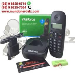 Telefone Sem Fio Preto Intelbras TS 2510 em São Luís Ma