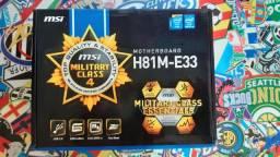 Placa Mãe H81M-E33