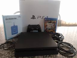 Vendo PS4 slim 500gb +dois controles