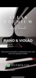PROMOÇÃO Aulas Premium de VIOLÃO e TECLADO!!