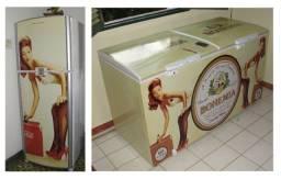 Adesivo Envelopamento De Geladeiras e Freezers personalizados