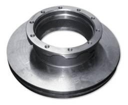 Disco freio dianteiro ventilado s/cubo MDS - D713 (par)