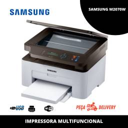 Impressora Multifuncional laser Xpress SL-M2070W Samsung - Wi-fi (Mostruário)
