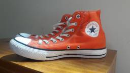 All Star Converse Cano Alto Laranja